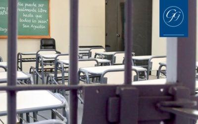 Trabajo, estudio y redención de pena en centro penitenciario
