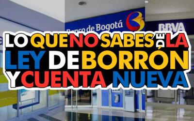 LEY DE BORRÓN Y CUENTA NUEVA